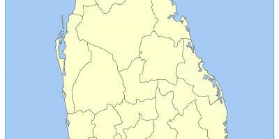 Sri Lanka Karte Zum Drucken.Karte Von Sri Lanka Resorts Sri Lanka Tuwarisam Karte Süd Asien
